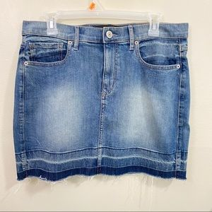 Express Jeans stretch Denim skirt size 12 NWOT